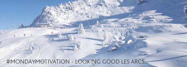 Les Arcs Skiing