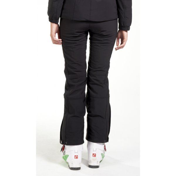 Poivre Blanc Stretch Black Fitted Ski Pants