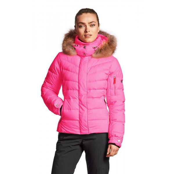 bogner sale d womens ski jacket in bright pink. Black Bedroom Furniture Sets. Home Design Ideas