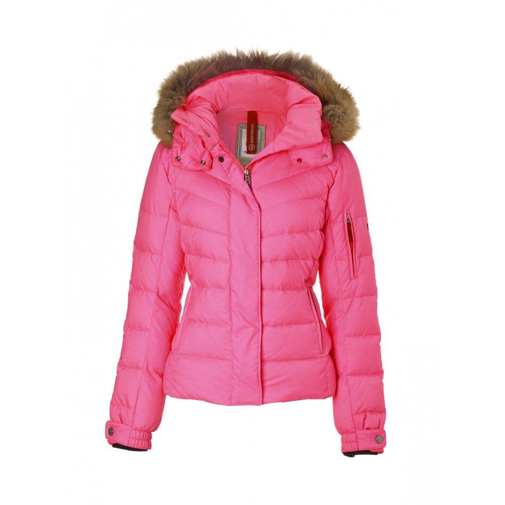 bogner sale d womens ski jacket in pink. Black Bedroom Furniture Sets. Home Design Ideas