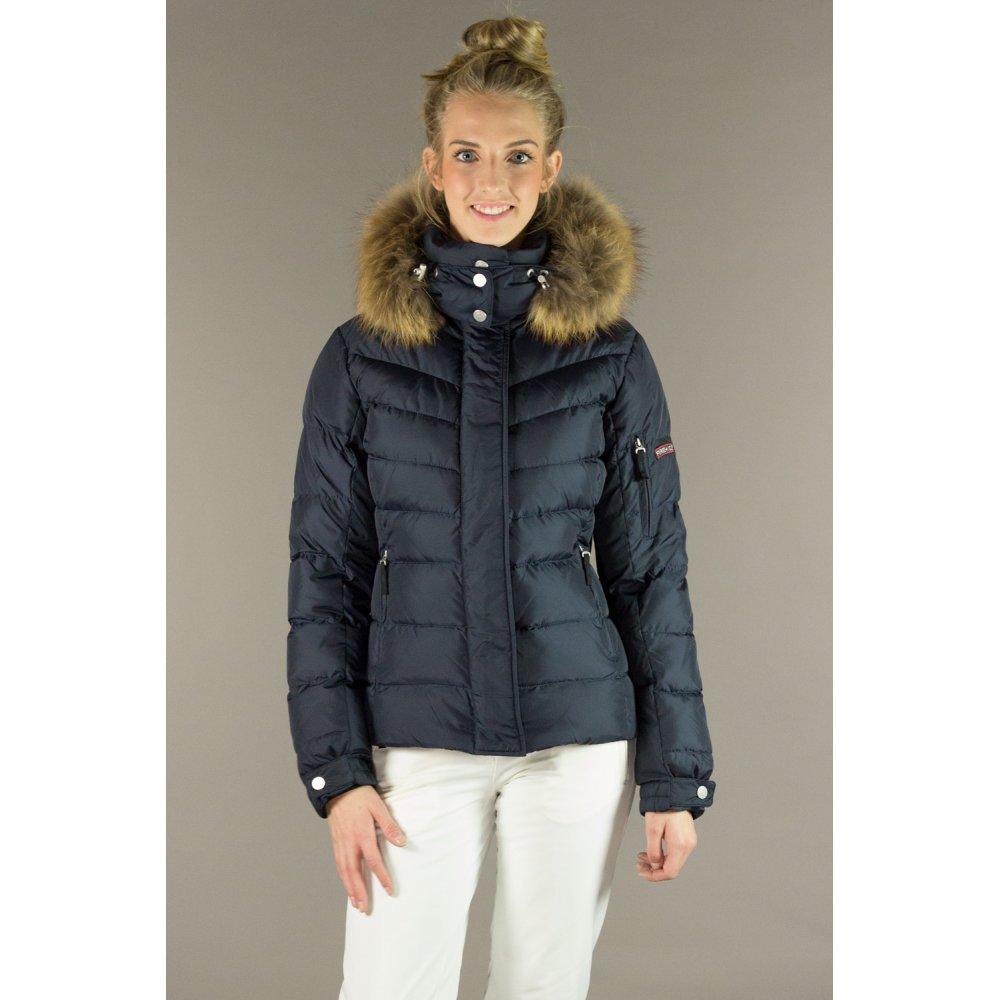bogner sale d womens ski jacket in navy. Black Bedroom Furniture Sets. Home Design Ideas