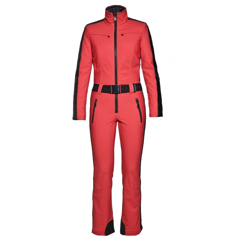 Goldbergh Phoenix Womens Ski Suit In Red Red One Piece