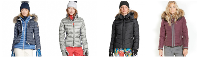 Womens Down Ski Jackets