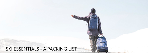 Ski Packing List - Ski check list