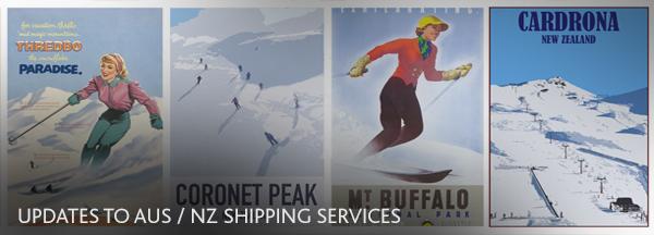 Australia New Zealand Ski - Shipping