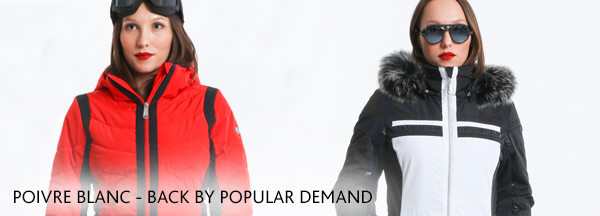 Poivre Blanc Womens Ski Wear