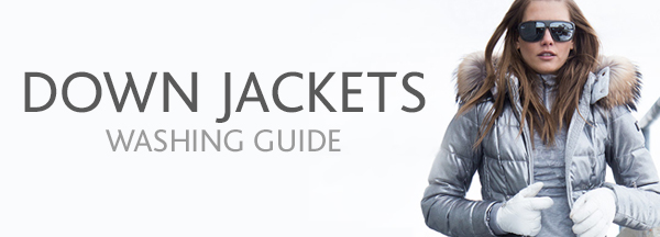 Down Jacket washing guide