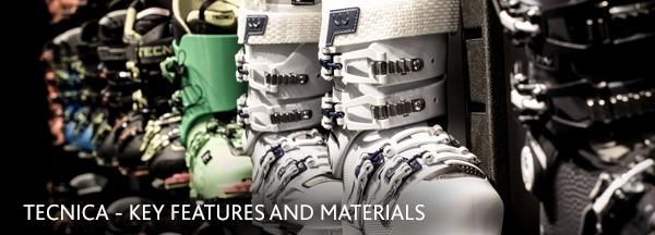 Tecnica Ski Boots - Tech and materials