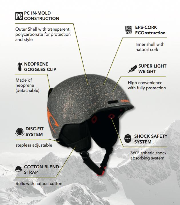 O'Neill Ski Helmet Features