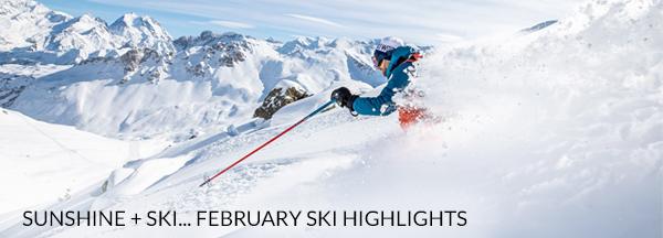 February Ski Highlights