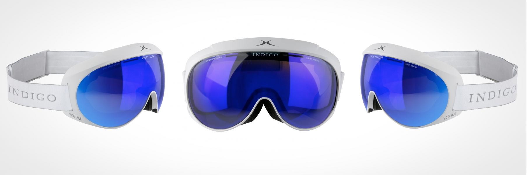 indigo ski voggle
