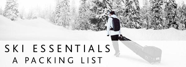 Ski Packing List