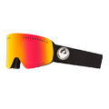 Dragon Alliance Dragon NFX Ski Goggle in Black with LumaLens Red Ion and LL Rose Lens
