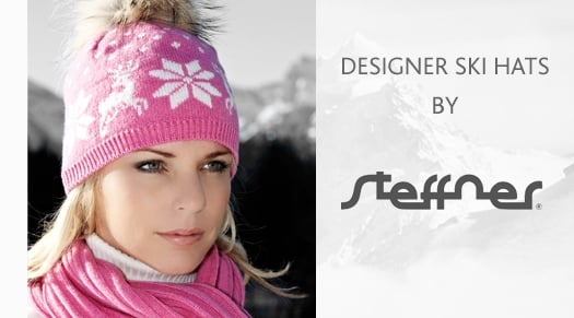 WOMENS Designer ski hats