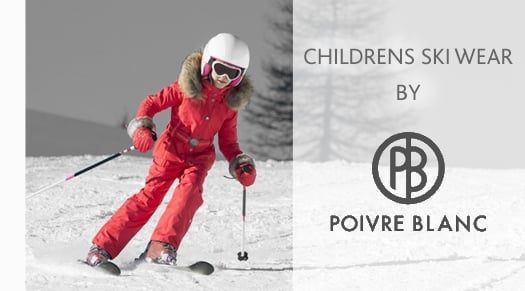 Childrens  SKI WEAR BY POIVRE BLANC