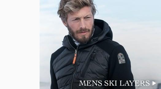 Mens Ski Layers