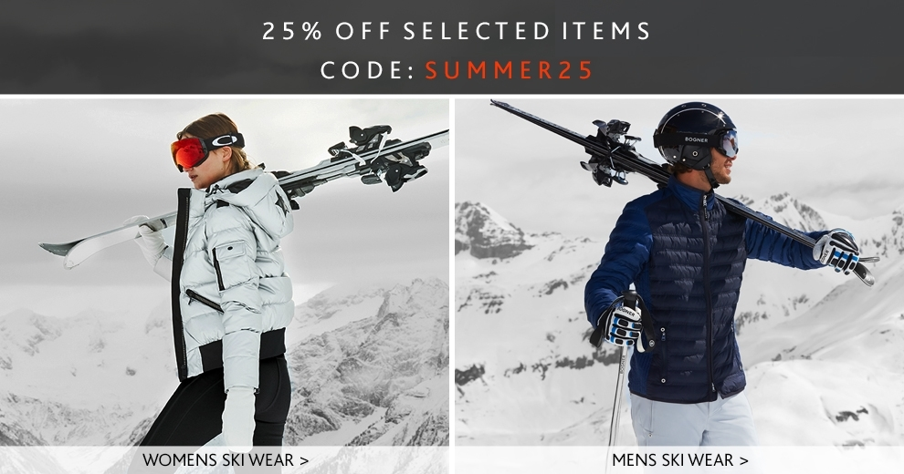 summer25, mens and womens ski wear