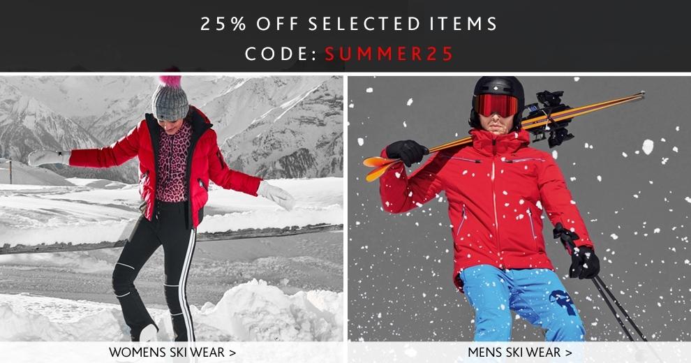 midsummer35, mens and womens ski wear