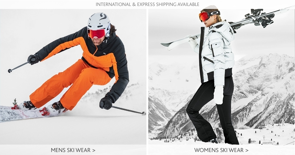 Mens And Womens Ski Banner - International