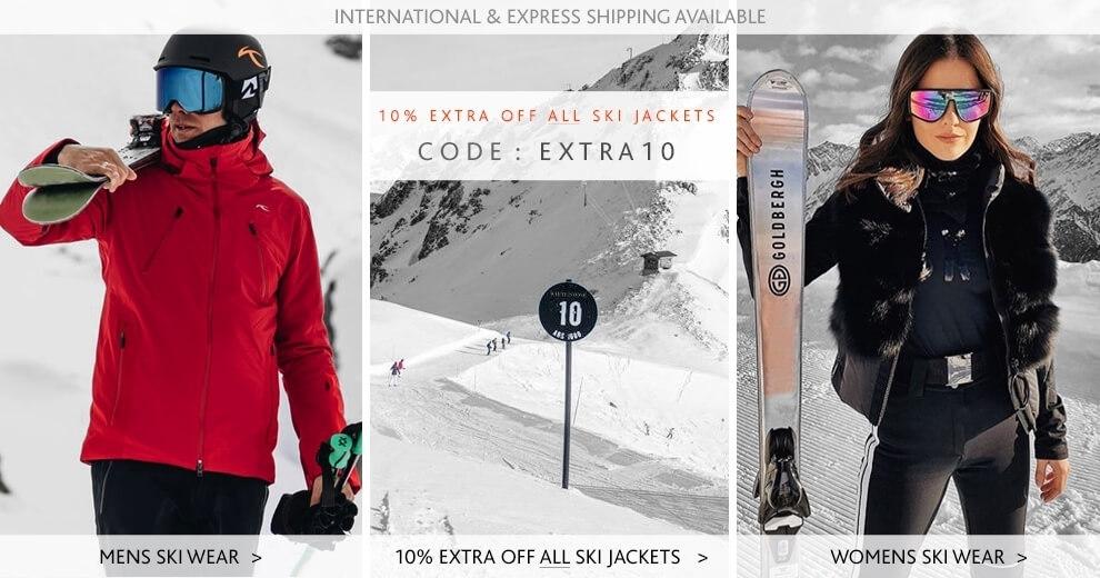 Mens Ski Wear - Ski Jackets - Womens Ski Jackets