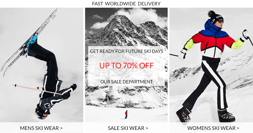 Womens Ski Wear, Mens Ski Wear, Sale Ski Wear
