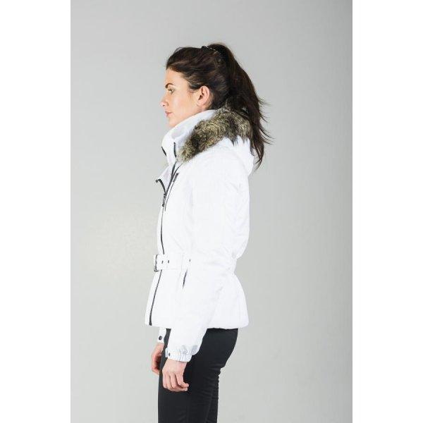 ea3831c6de Poivre Blanc Rita Stretch White Womens Ski Jacket.