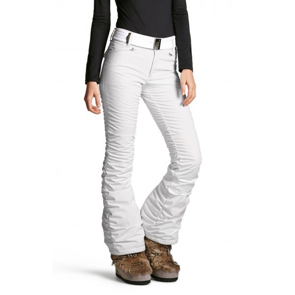 ... Bogner Rominja Womens Fitted Ski Pant In Cream ... 18dfcce16753