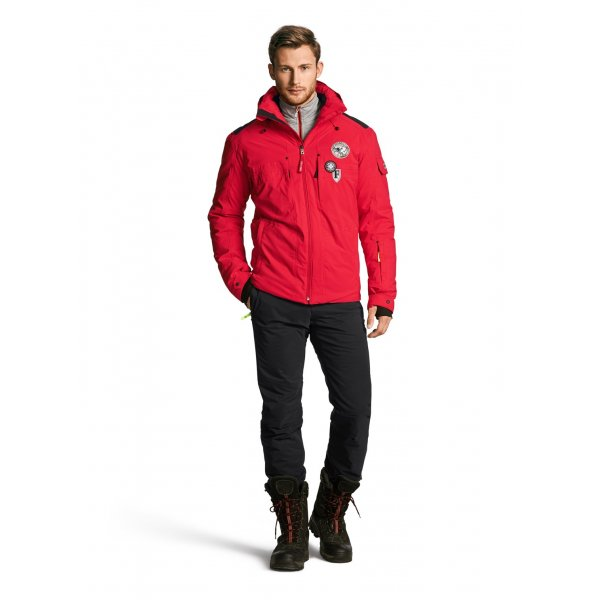 Bogner Piz D Mens Red Ski Jacket