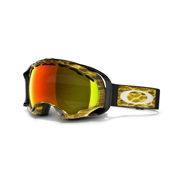 8196ca9eb7 Oakley Splice Amped Bright Orange Ski Goggle With Fire Lens