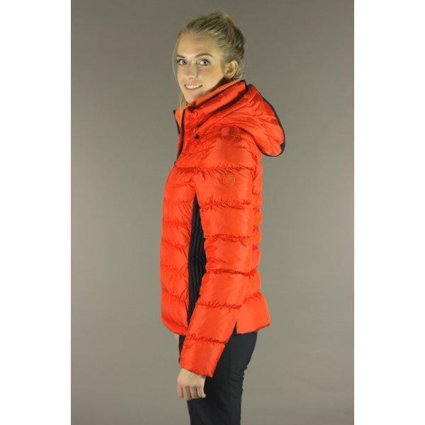 3e9b4f71b0 Poivre Blanc 1201 Womens Short Down Ski Jacket In Flemme