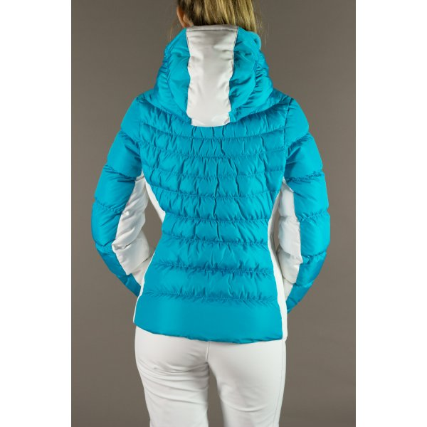 a8100a80ad Poivre Blanc 1201 Womens Short Down Ski Jacket In Atoll