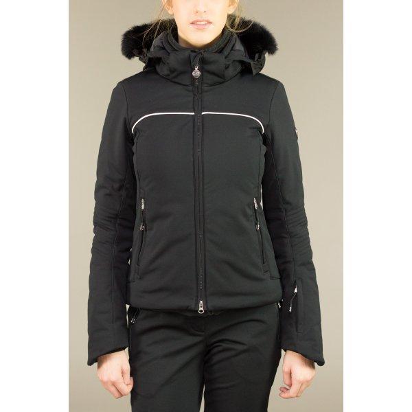 8e5cc5f798d0a Armani EA7 High Tec Womens Ski Jacket in Black