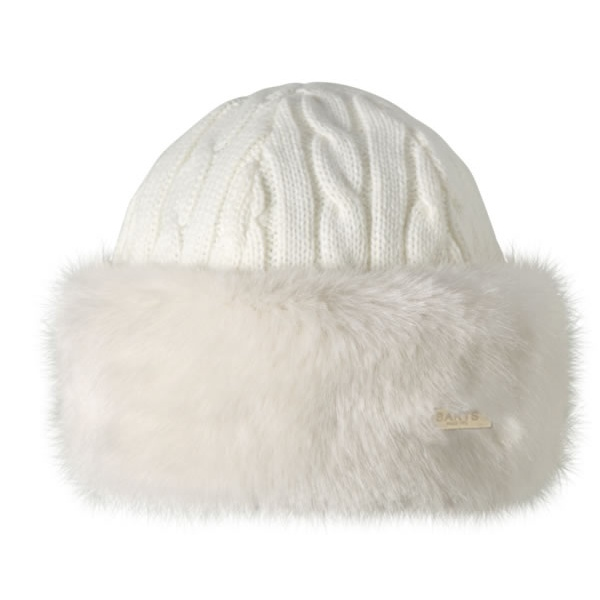 08ef3e93ef7 Barts Fur Cable Bandhat Ski Hat in White