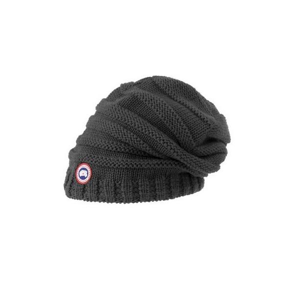 Canada Goose Merino Slouchy Womens Hat in Graphite e3b1cca2ca6