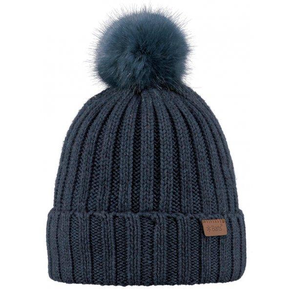 Barts Linda Beanie Ski Hat In Old Blue