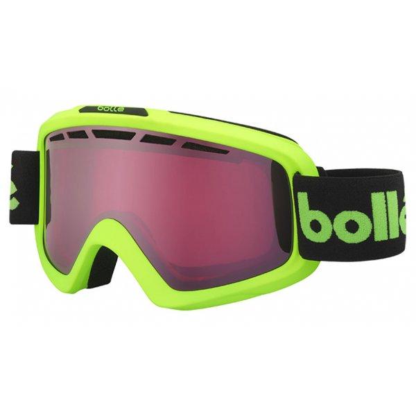 42e9c8b1c69 Bolle Nova II Matte Green Retro Ski Goggle with Vermillon Gun