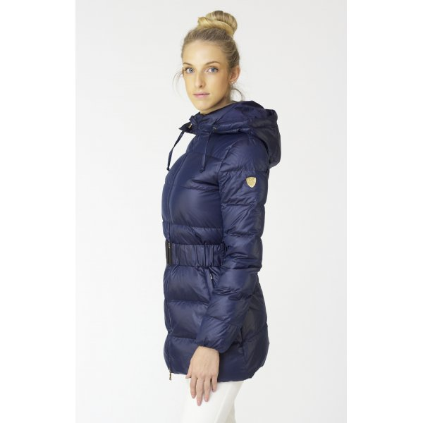 Armani EA7 Winter Coat - Mountain Pure 3 4- Down Womens Jacket in Navy 0c9e8e0a31