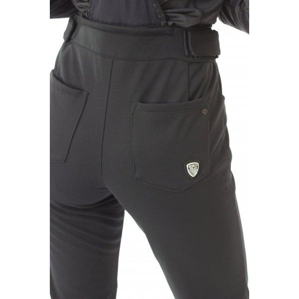 f3e101d7c0 Armani EA7 Softshell Womens Ski Pant in Black - EA7 Womens Ski Pants