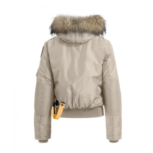 ... Parajumpers Gobi Womens Down Bomber Jacket in Cappuccino. ‹