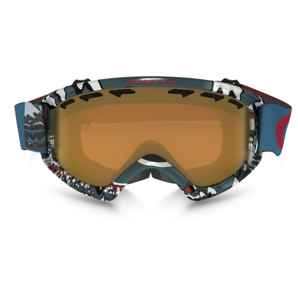 7b32d15544 ... Oakley O2 XS Shady Trees Blue Red frame with Persimmon Lens ...