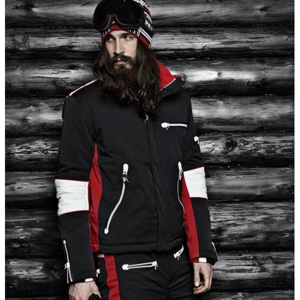 Sos Mens Biker Ski Jacket Sos Ski Jacket Sos Ski Wear