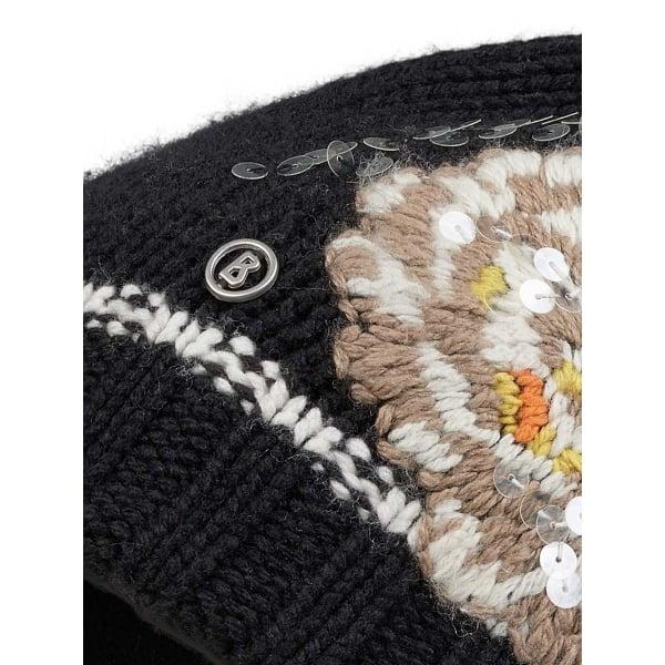 Bogner Philly Womens Designer Ski Hat In Black