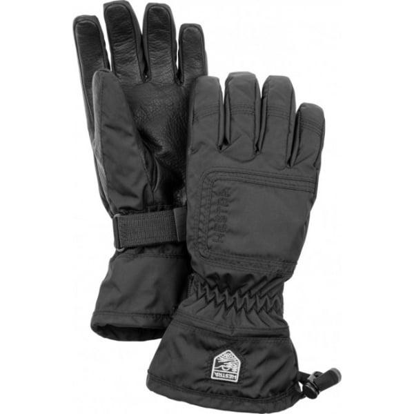 Hestra Czone Powder Female Ski Glove In Black