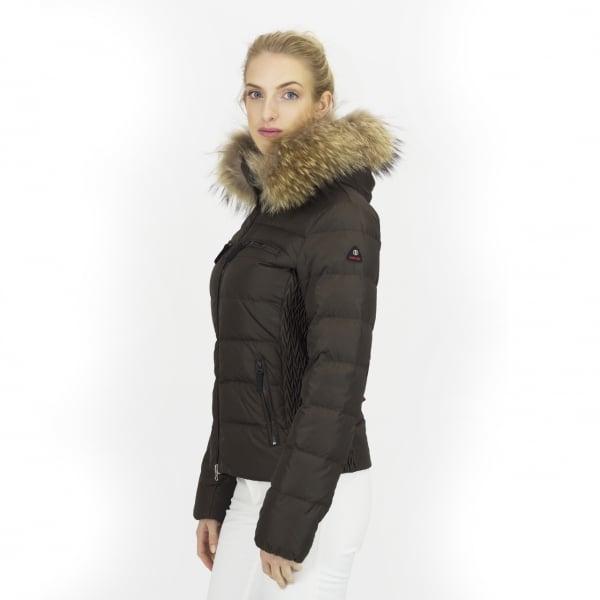 d2ea58471d23 ... Bogner Lela D Womens Ski Jacket in Army Green ...