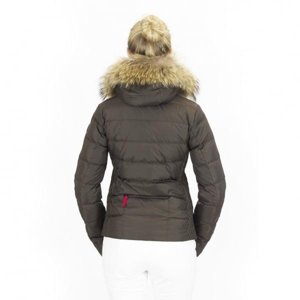 2fc3c9f8ad9d ... Bogner Lela D Womens Ski Jacket in Army Green. ‹