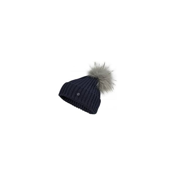 06c6f03b299 Bogner Leonie Womens Designer Ski Hat in Navy