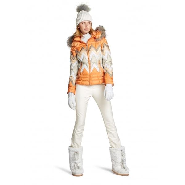 ... Bogner Emilia Fitted Ski Pant in Off White ... 1385d8285c