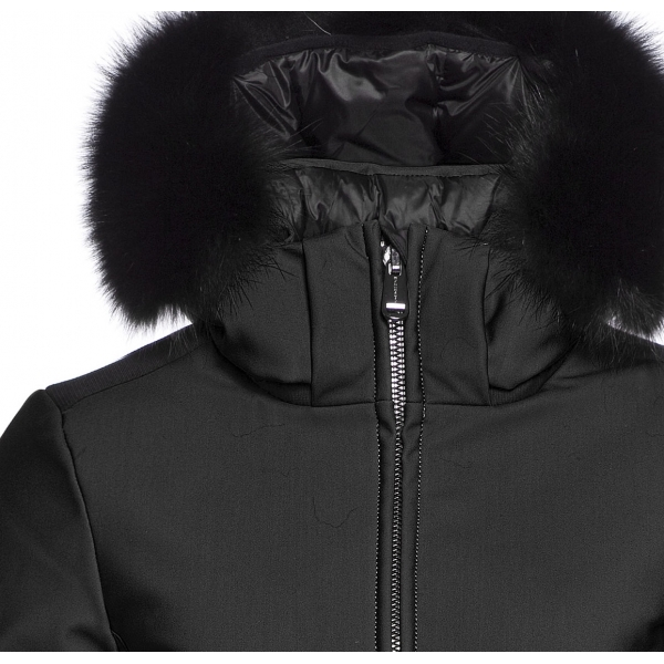 ... Goldbergh Kago Faux Fur Womens Ski Jacket in Black ... d184cd783