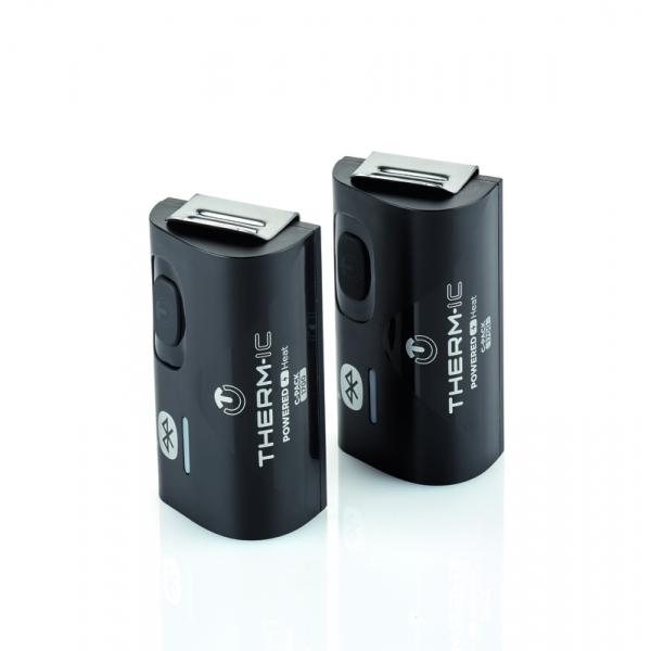 Thermic Set Heat Kit Amp C Pack 1700 Bluetooth Ski Boot Heater