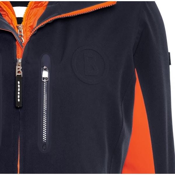 Bogner Randy T Mens Ski Jacket In Navy And Orange 8ff59dca3